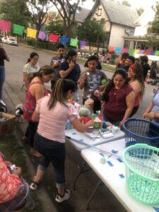 Neighborhood block gathering